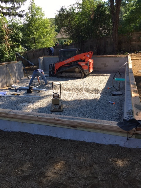 Foundation Walls-July