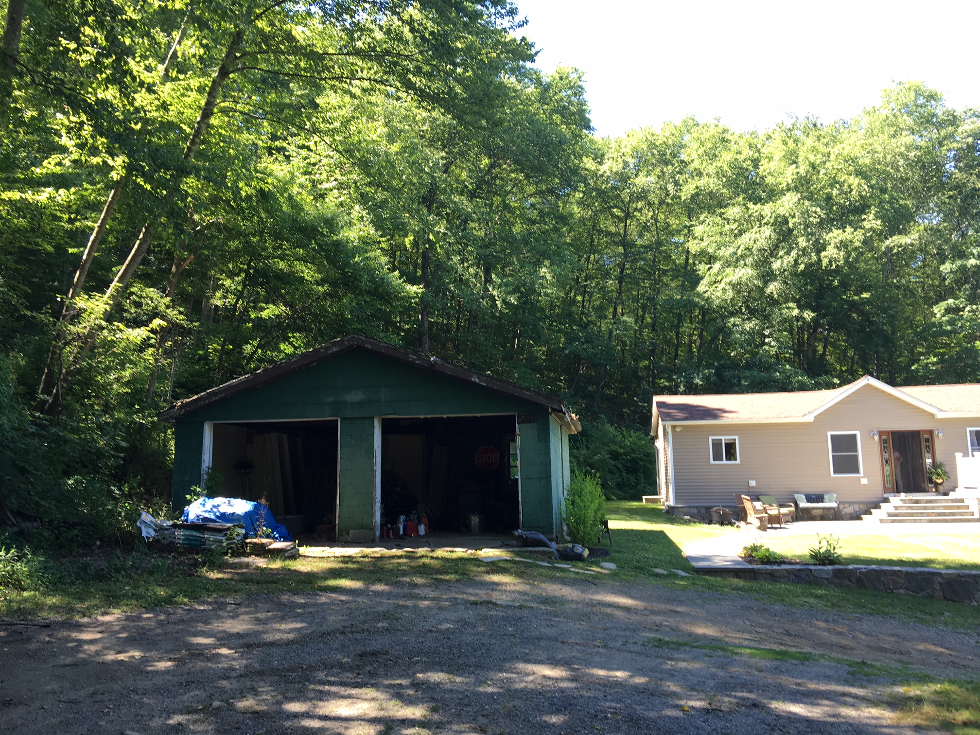 Garage tear down-July 2016